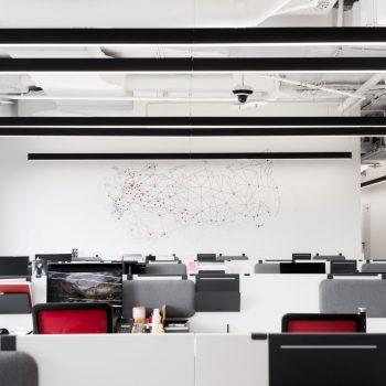 Новый офис компании Hikvision