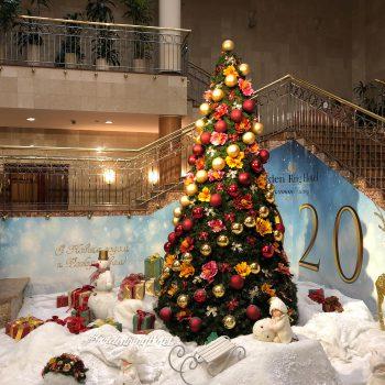 Главная новогодняя елка отеля «Золотое кольцо»