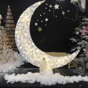 Новогоднее оформление детского праздника в «Юнилевер Рус»
