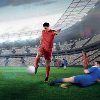 На футбол  без риска