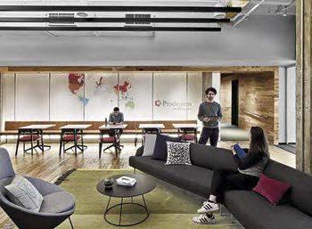 Брендинг современного рабочего пространства