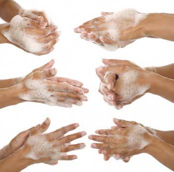 Чистота рук влияет на работу компании