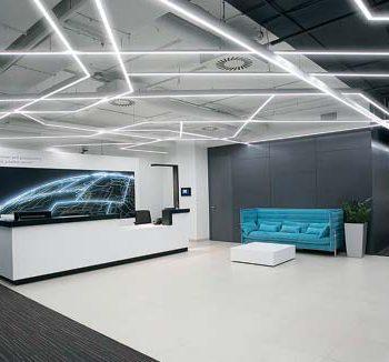 Зонирование офиса светом. Потребности, эффективность и экономия