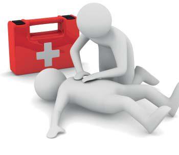 Организация первой помощи пострадавшим в офисе