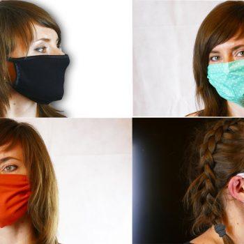 Роспотребнадзор напомнил правила использования масок из ткани