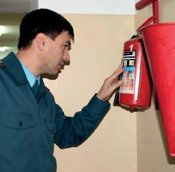 К вам пришла проверка.  Государственный пожарный надзор