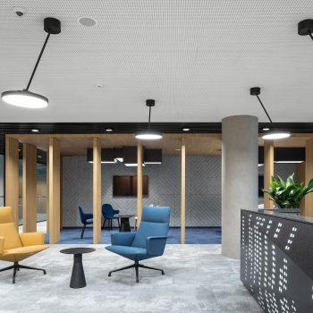 """Новое офисное пространство """"ПАО НЛМК"""" для командной работы. Номинация «Лучший новый офис»"""
