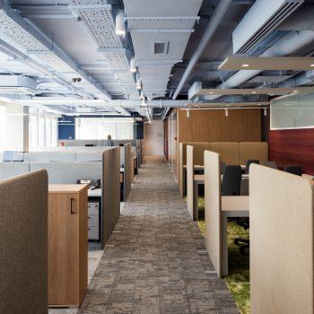 """Природные краски и история компании в новом офисе """"ДеЛаваль"""". Номинация """"Новый лучший офис"""""""