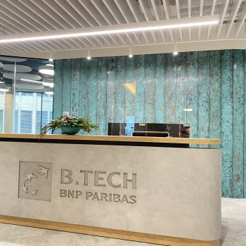 Офис нового поколения для BNP Paribas Technology