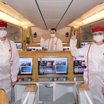 Emirates Airline полностью вакцинирована