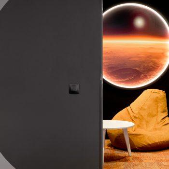 Офис в марсианском стиле для Alfa Digital