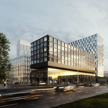 Новый комплекс Lunar на Ленинском проспекте с апартаментами и офисными помещениями