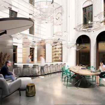 СберМаркет арендовал flex-офис во флагманском проекте Space 1 Балчуг